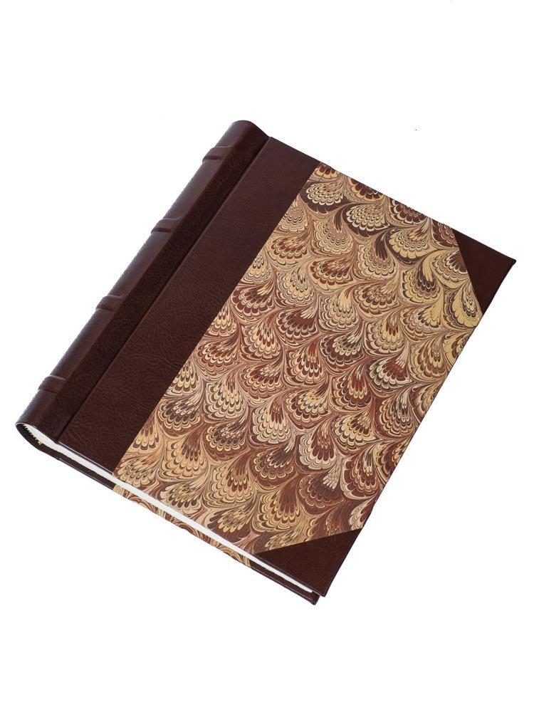 Classic brown Florentine photo album