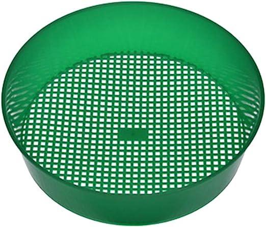 Doitool Criba Plástica de Criba de Jardín Verde para Compost Suelo Herramienta de Jardinería de Malla de Piedra: Amazon.es: Jardín