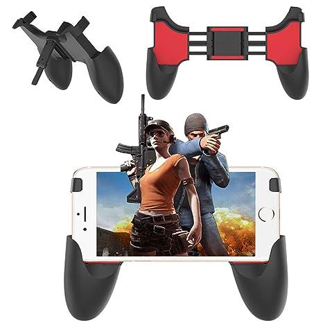 Amazon com: Yuwen Joystick Grip Handle PUBG Mobile Gamepad