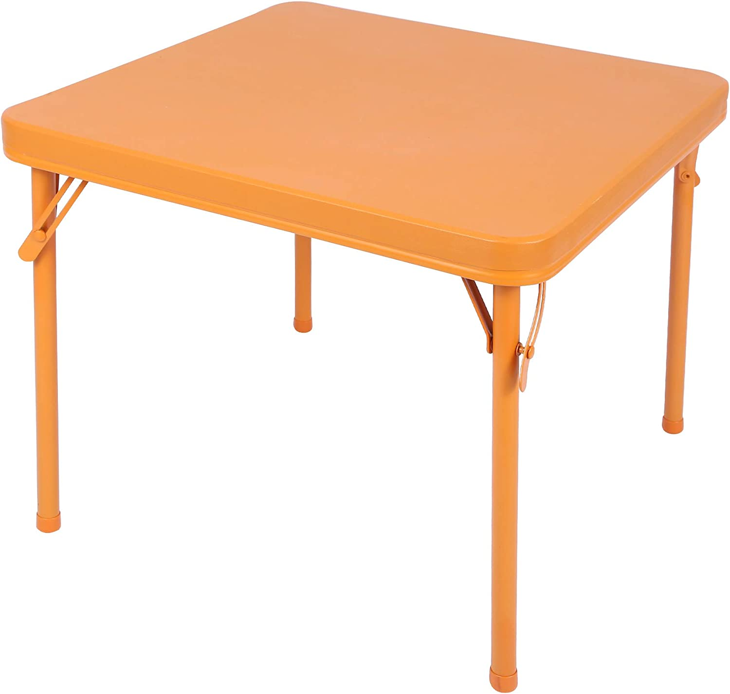 RedSwing Kids Folding Table, Square Card Table for Toddler Children Playing Dining Drawing