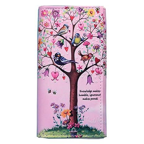 Junlinto Fashion Women Lady Long Monedero Cartera Clutch Bag Card Holder Handbag Phone Case NO.