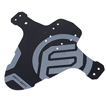 Guardabarros para bicicleta de montaña MTB de FIFTY-FIFTY, ajustable, compatible con ruedas