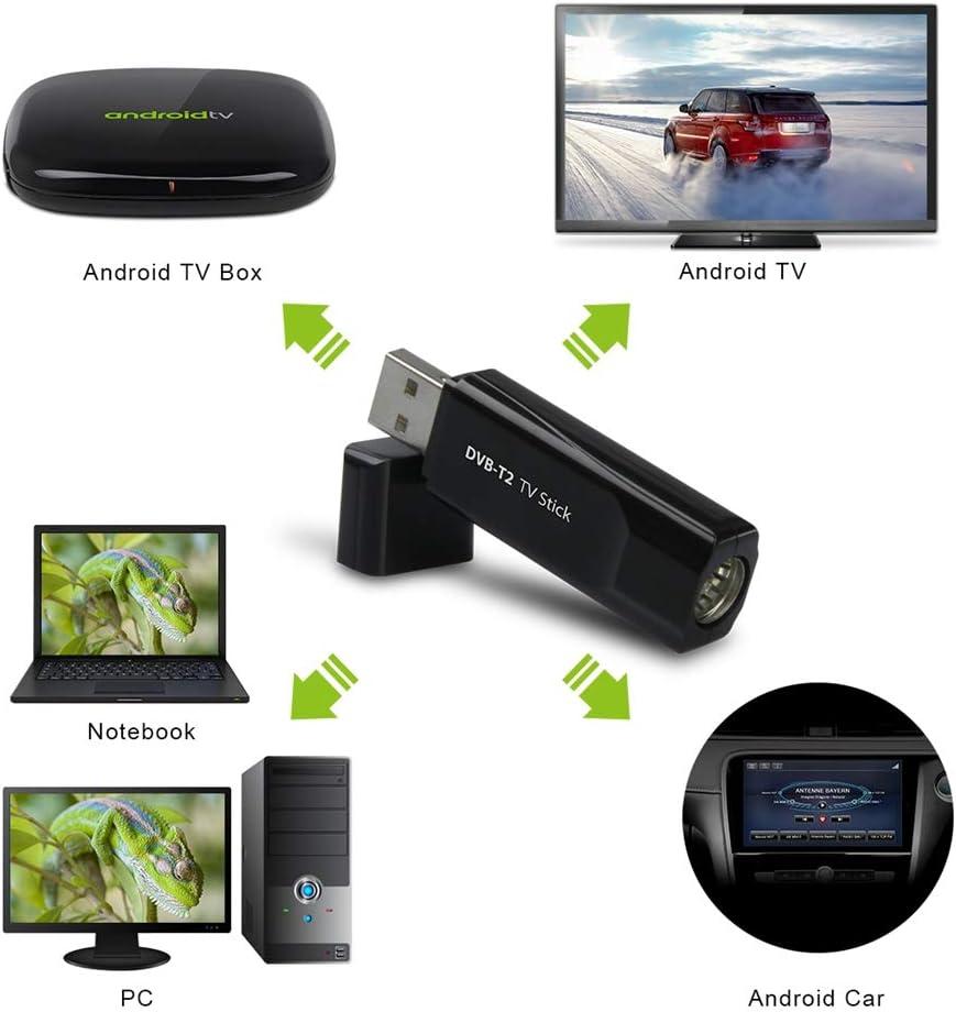MyGica® Sintonizador TDT HD Televisión Receptor USB de DVB-T2 ...