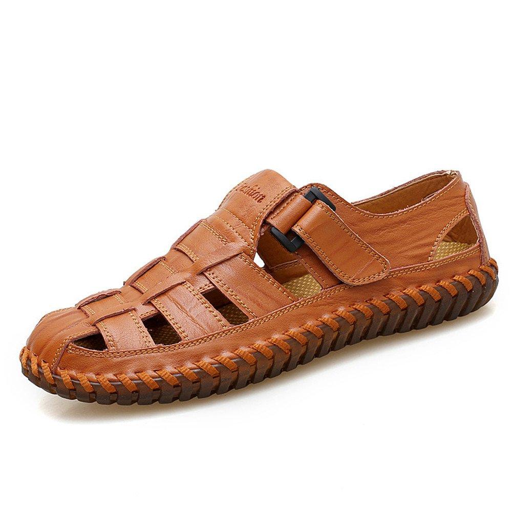 Erwachsene männliche Sommer-im Freienleder watende Strand-Sandalen und Pantoffel    Gewinnen Sie das Lob der Kunden
