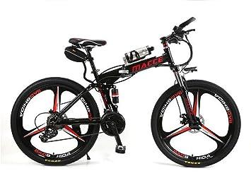 BYYLH Bicicleta Electrica Paseo Montaña Plegable Ion Litio E-Bike Adult: Amazon.es: Deportes y aire libre