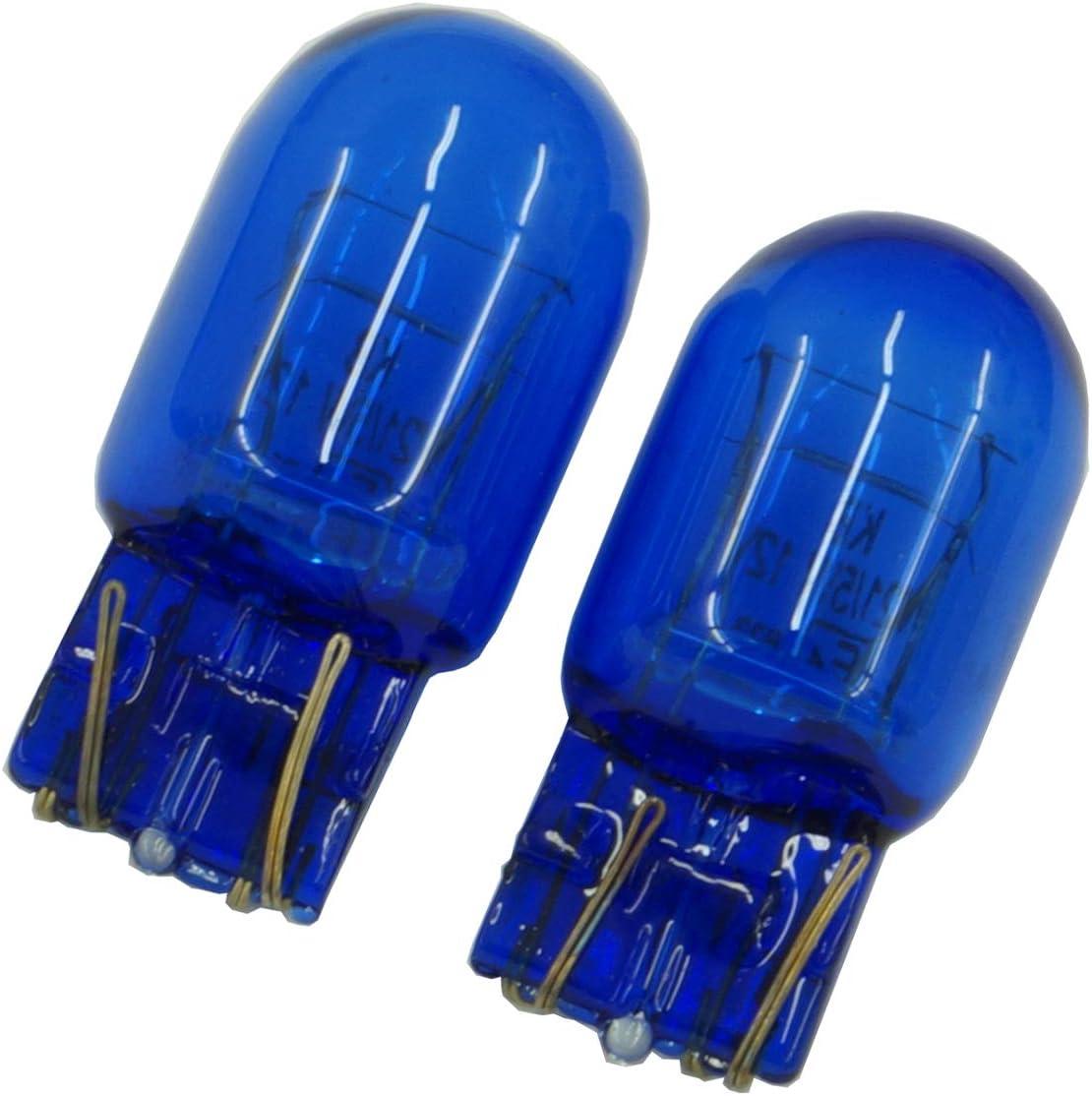 senza errori Canbus. 12 V Set di 2 luci di marcia diurna W21W T20 blu 21 W