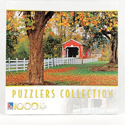 Puzzlers Collection 1000 Piece Puzzle -- Covered Bridge, Oregon