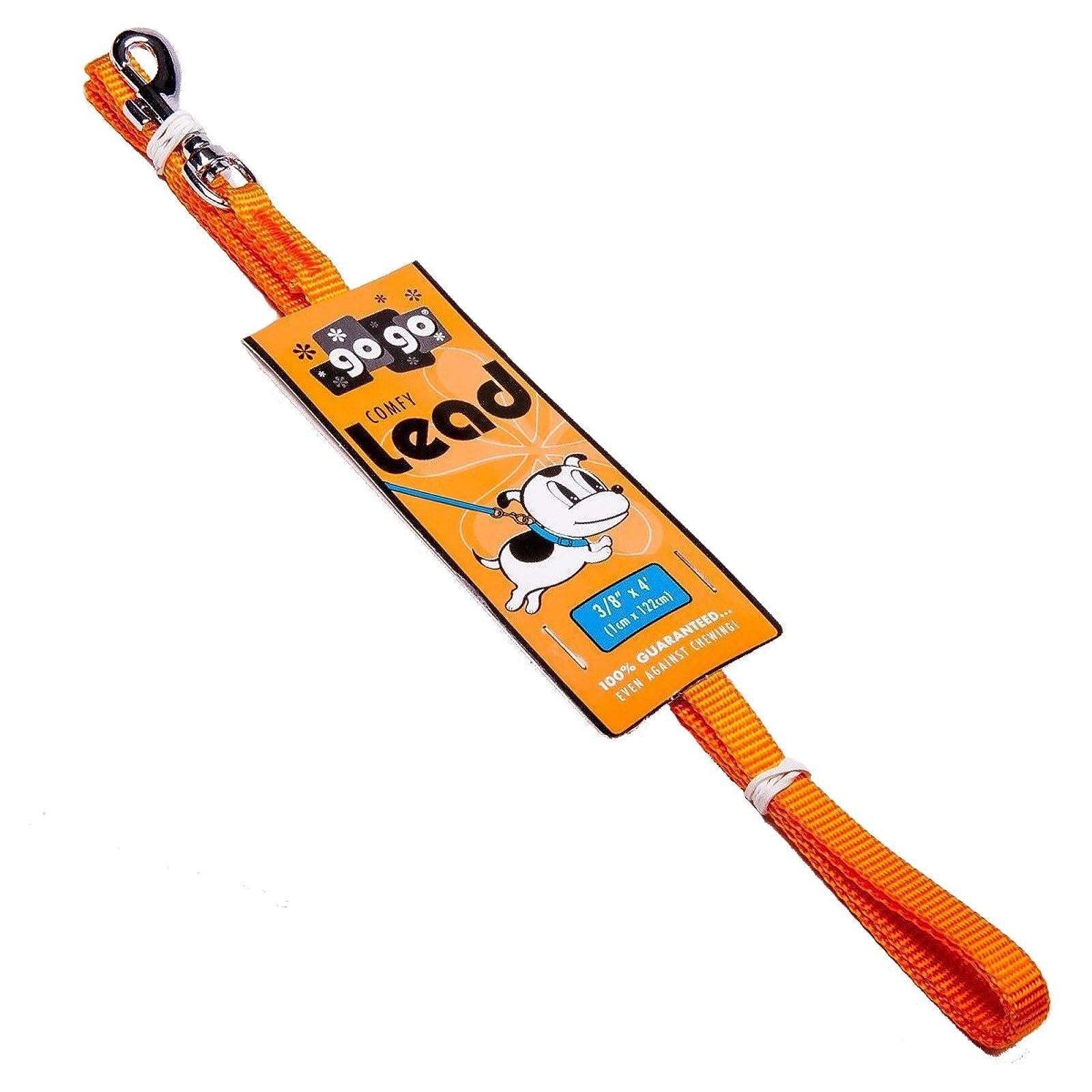 GoGo Pet Products 3/8-Inch Wide 15005 Orange - 1