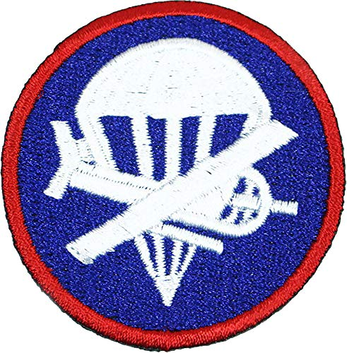 (Reproduction WW2 Officers Airborne Garrison Cap Patch)