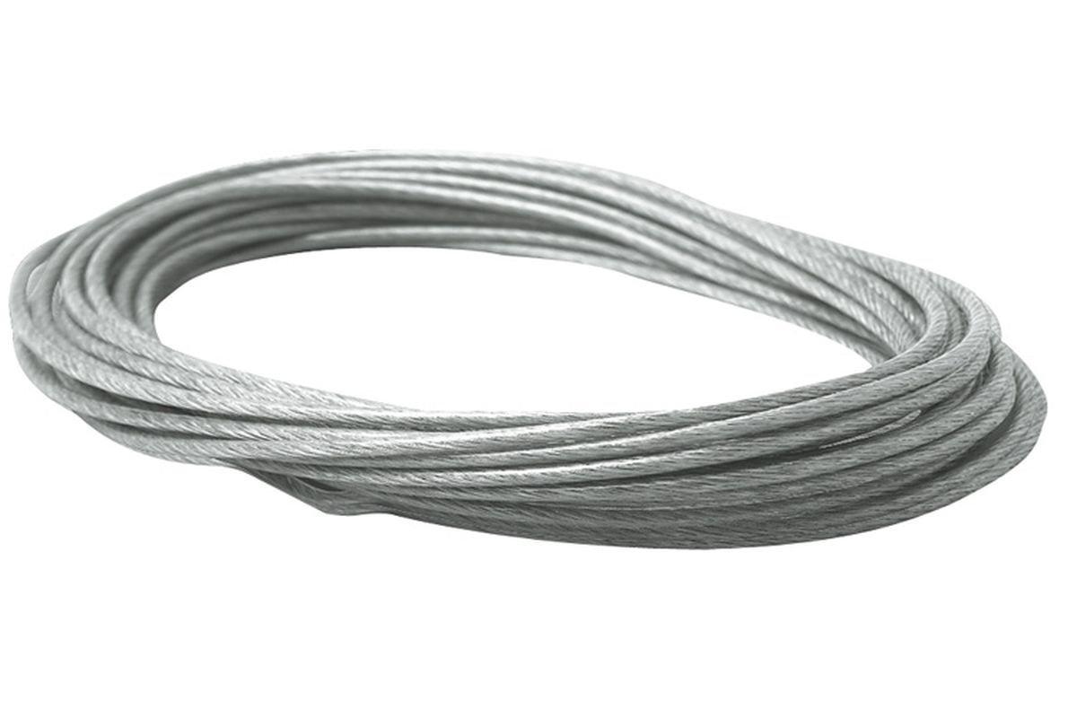 10 m Seil 2,26qmm Kupfer für Seilsystem mit Keflarfaser unbekannt.