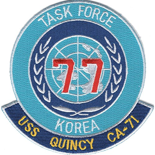 USS Quincy CA-71 Task Force 77 Korea - Tasks Ca