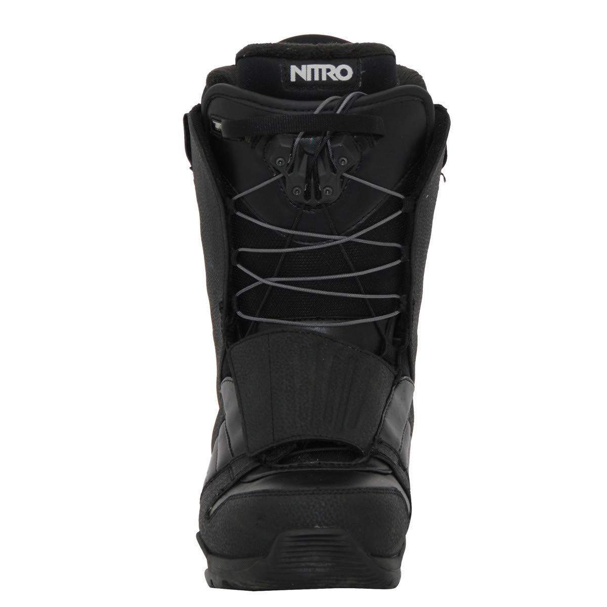 Nitro Schwarz und Wei/ß Snowboard Boots