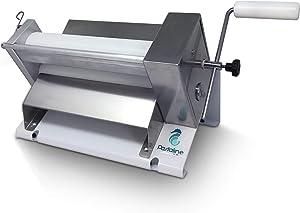 Dough Fondant Sheeter Machine Mini– #1 Italian Bakers Pasta Dough Roller Machine Creates Silky Smooth Gum Paste, Fondant,Modelling Chocolate, Flaky or Short Crust Pastry 0-12mm Thick