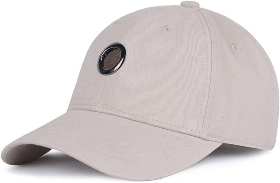 Gorra de béisbol Gorra de Visera para Hombre y Mujer Color sólido ...