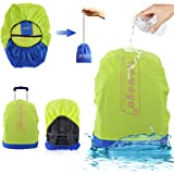 Waterproof Backpack Rain Cover with Stored Bag 30L to 40L,AYAMAYA Lightweight Durable Hiking Backpack Daypack Cover Elastic Adjustable Raincover Water Resist Pack Bag Cover for Travel Camping Rainy