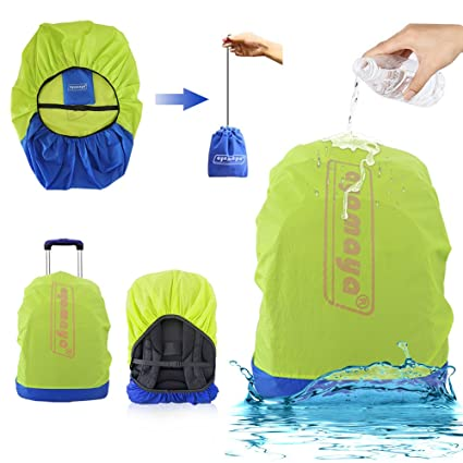 AYAMAYA Waterproof Backpack Rain Cover with Stored Bag 30-40L, Lightweight  Packable Durable Hiking e2d221716c