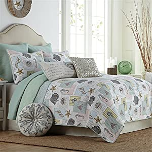 61TmMFsQH3L._SS300_ 100+ Best Seashell Bedding and Comforter Sets 2020