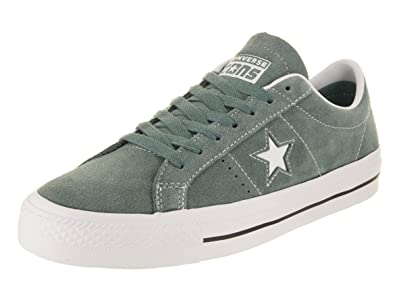 b6a5ea057071 Converse Unisex One Star Pro Ox Hasta White White Skate Shoe 3.5 Men US