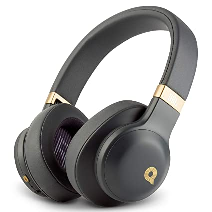 730142c59cd Amazon.com: JBL E55BT Quincy Edition Wireless Over-Ear Headphones with  One-Button Remote and Mic (Space Grey): Electronics