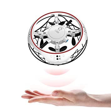 Jiadi UFO Drone Flying Toy Controlado a Mano, Flying Ball Drones ...