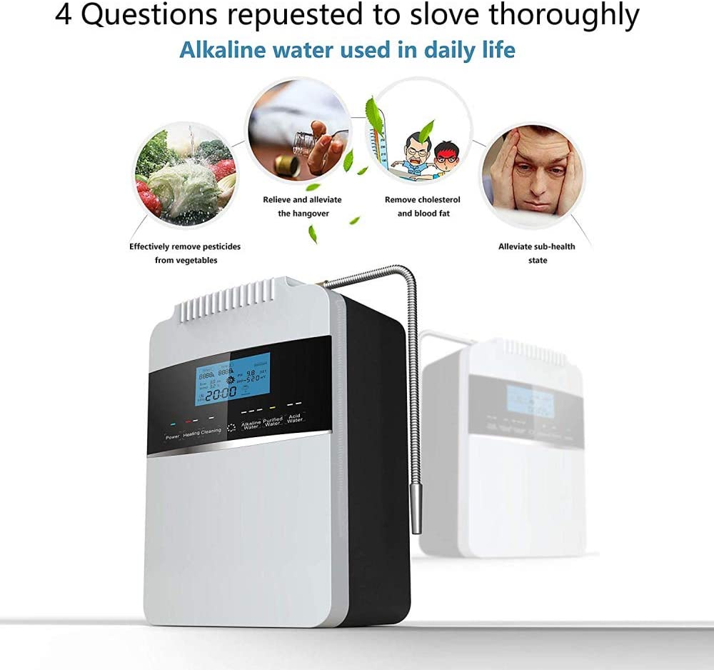 XSGDMN Máquina ionizadora de Agua alcalina, purificador de Agua ...