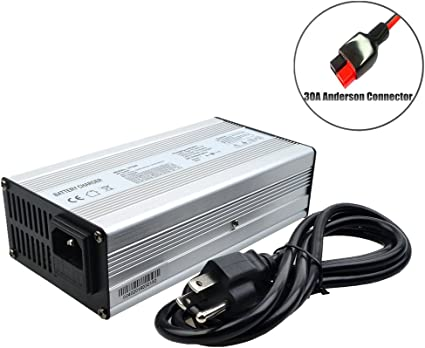 Waterproof 50.4V 6A Lithium Battery Charger For 12S 44.4V Li-ion Ebike charger