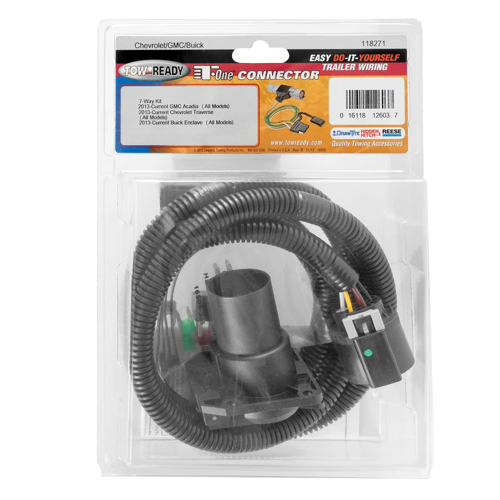 Amazon.com: Tekonsha 118271 7-Way Tow Harness Wiring Package, 1 Pack:  Automotive