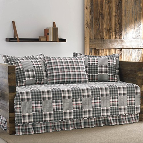 Bauer International Home Accents (Eddie Bauer 5 Piece Mt. Hood Quilted Daybed)