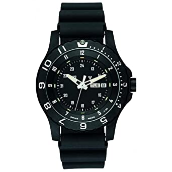 49944ded6d8 Amazon.com  Mens Watch Traser H3 P660091F1301 Military Black Resin ...