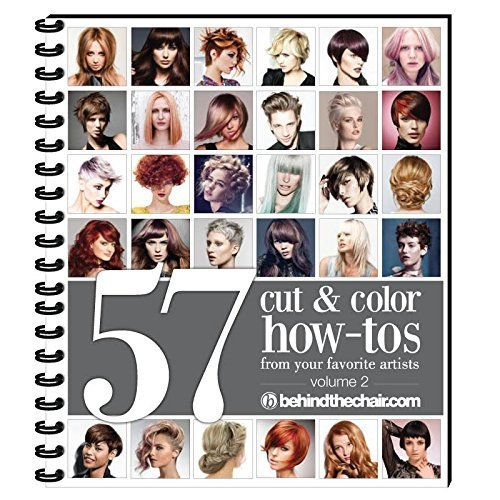 57 Cut and Color How-to's Step By Step Book From Your Favorite Artists- Vol. 2 (Hairstyles How To)