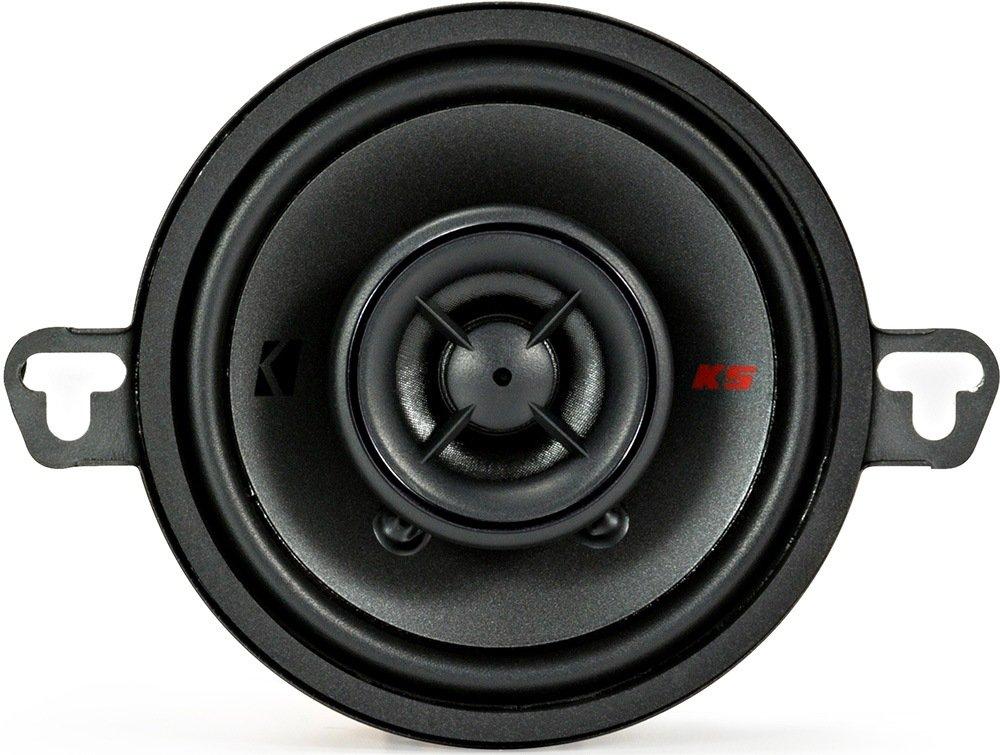 Kicker KSC3504 KSC350 3.5 Coax Speakers with .5 tweeters 4-Ohm