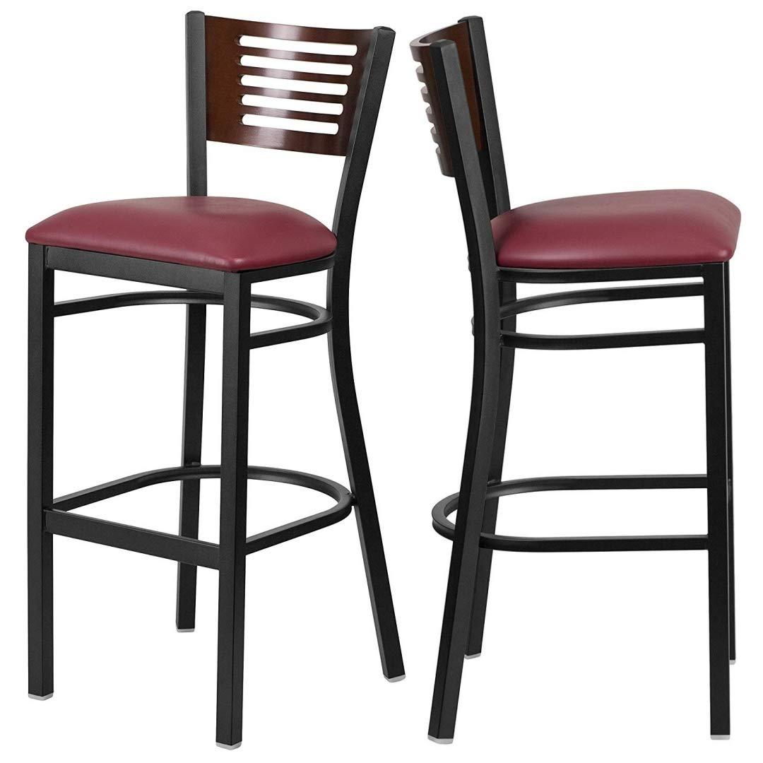 Sensational Amazon Com Modern Style Metal Dining Bar Stools Pub Lounge Dailytribune Chair Design For Home Dailytribuneorg