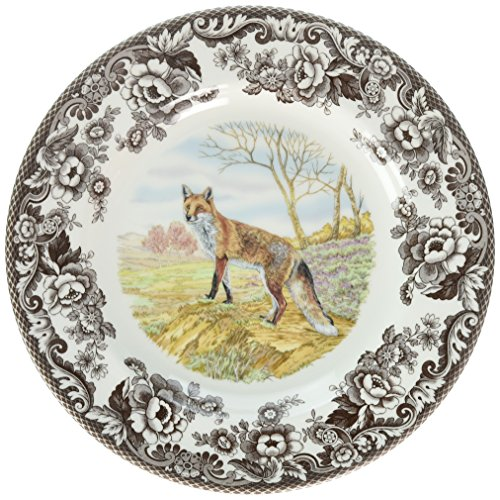 (Spode 1607262 Woodland Red Fox Dinner Plate)