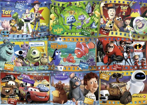 Ravensburger Disney Pixar Movies 1000 Piece Jigsaw Puzzle for Adults – Every Piece is Unique, Softclick Technology Means Pieces Fit Together Perfectly -