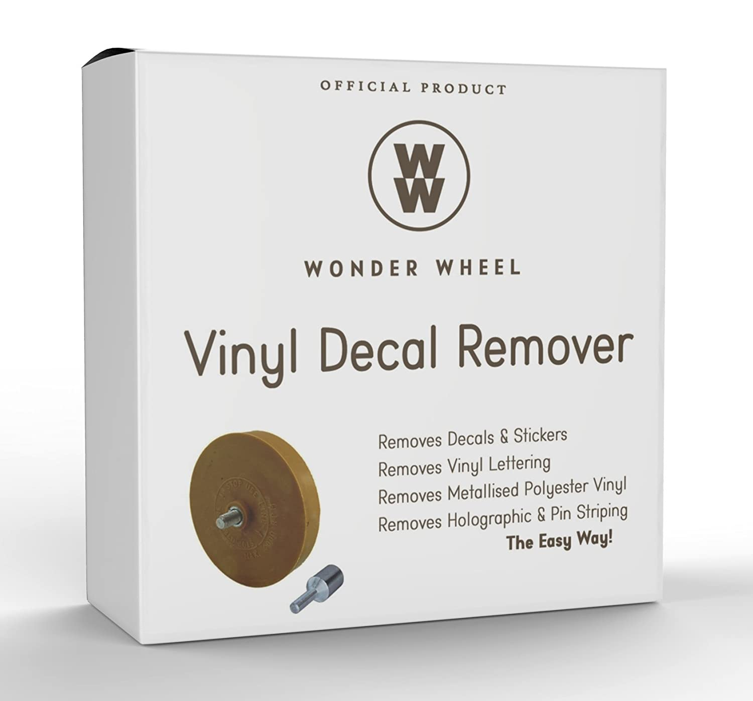 Amazoncom Decal Remover Eraser Wheel Remove Car Decals Vinyl - Boat decals and lettering   easy removal