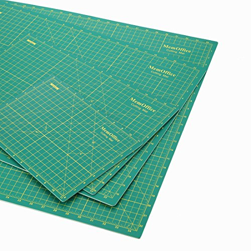 MemOffice Self-Healing Rotary Cutting Mat - 24'' x 36'', Professional Cutting Mats, Double Sided, Durable, Ideal for Crafts, Sewing, Quilting and All Arts & Crafts Project by MemOffice