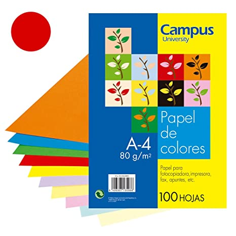 Amazon.com : CAMPUS University 100H 326 - Color Paper ...
