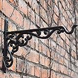 TinaWood 2PCS Cast Iron Hanging Basket Vintage Wall