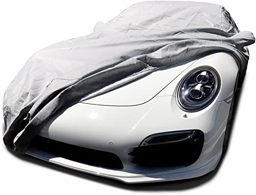 Coverking Custom Fit Car Cover for Select Porsche 911 Models Gray CVC2I98PR7072 Triguard