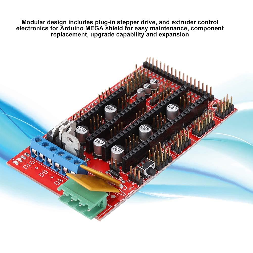 ASHATA - Placa controladora para Impresora 3D RAMPS 1.4 para ...