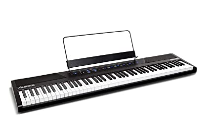 Alesis Recital | 88-Key Beginner Digital Piano with Full-Size Semi-Weighted  Keys, Power Supply, Built-In Speakers and 5 Premium Voices (Amazon
