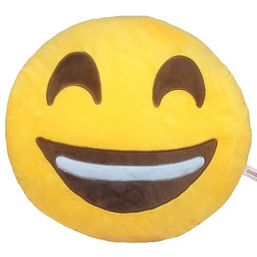Cojín Emoji Feliz