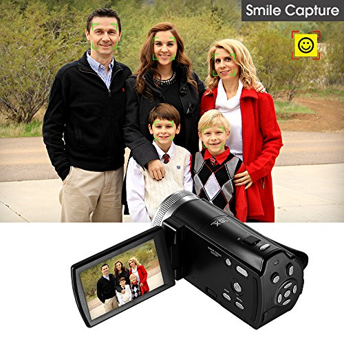 ORDRO HD Camcorder 1080P 30FPS 20MP Infrared Night Vision Digital Video Camera by ORDRO (Image #3)