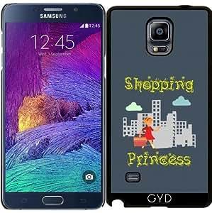 Funda para Samsung Galaxy Note 4 (N910) - Princesa De Compras by hera56