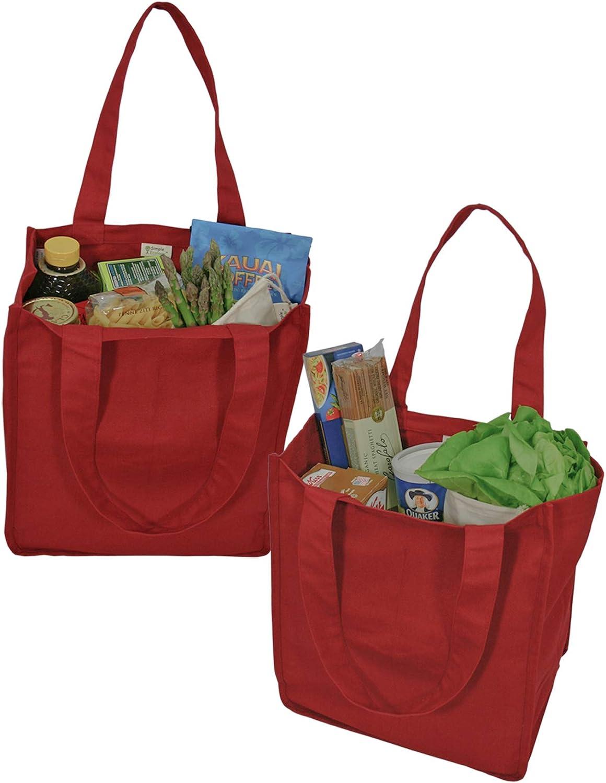Simple ecología algodón orgánico Deluxe – Bolsa de la compra reutilizable con botella mangas: Amazon.es: Hogar