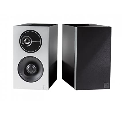 Definitive Technology D7 High Performance Demand Series Bookshelf Speakers  | New and Unique Tweeter Design | Acoustically Transparent Magnetic Grille