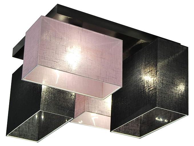 Plafoniere Per Sala Da Pranzo : Plafoniera illuminazione a soffitto jls44liscd in legno massiccio