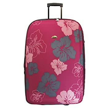 Large Lightweight Expandable Luggage Trolley Case Suitcase Bag ...