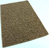 10'x14′ OVAL – Golden Rays – Indoor/Outdoor Area Rug Carpet, Runners & Stair Treads with a Premium Nylon Fabric FINISHED EDGES . Picture