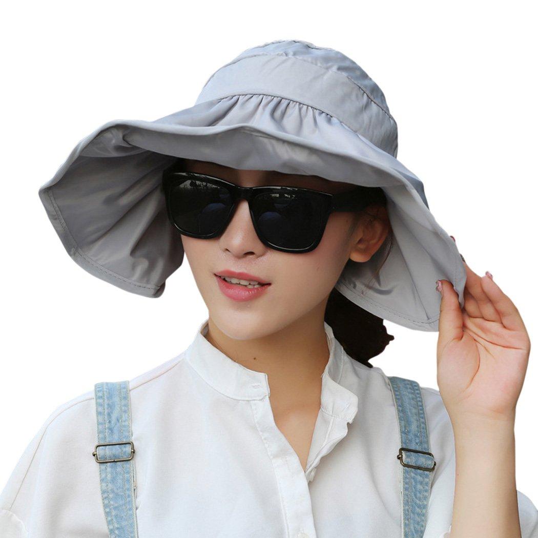 Fascigirl womens beach hat visor hat uv protection foldable floppy summer  beach cap beauty jpg 1050x1050 bf8bfad2d4ca